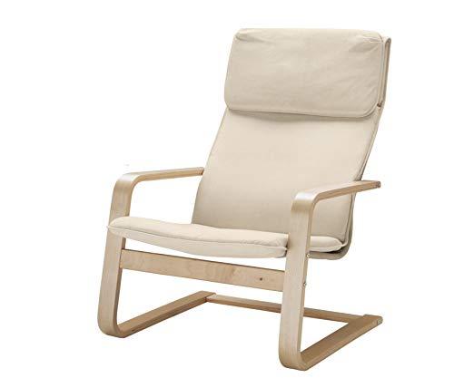 Vinylla Ikea Pello Armchair Replacement Cover (Cotton - Beige)