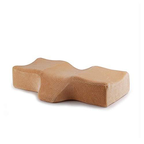 U-shaped pillow Almohada for el cuello Almohada de vuelo cómoda Almohada ortopédica de espuma viscoelástica Almohadas de confort transpirables súper altas for dormir Extensión de pestañas Almohada for