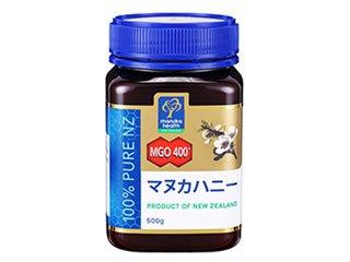 マヌカヘルス社 マヌカハニー MGO400+ (500g) (日本国内正規代理店品)