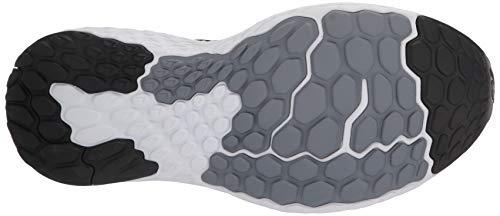 New Balance Men's 1080v10 Fresh Foam Running Shoe, Black/Steel, 8.5 Wide