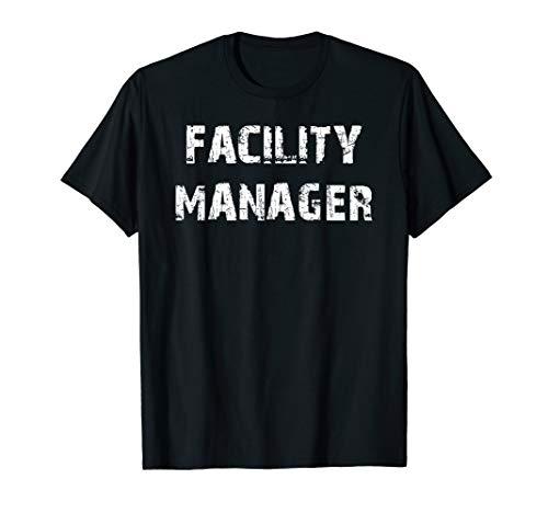 Herren Facility Manager Hausmeister Beruf Arbeitskleidung Spruch T-Shirt