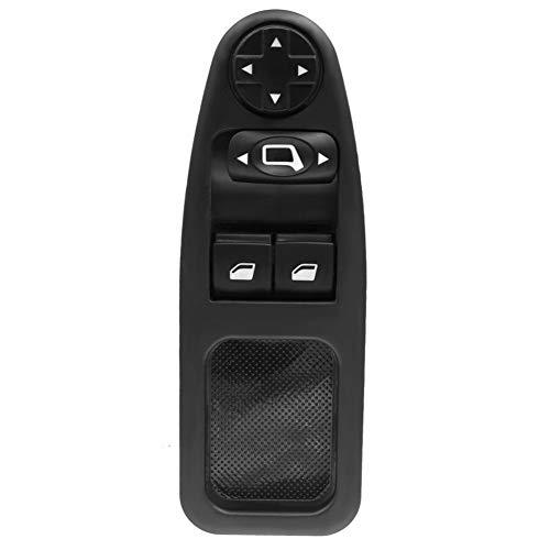 Botonera elevalunas Interruptor de la ventana 6554.ZJ 12Pins de encendido Botón de Control de Ajuste for Citroen Jumpy Despacho en forma for Peugeot Expert Maestro en forma for Fiat Scudo 2007-2016