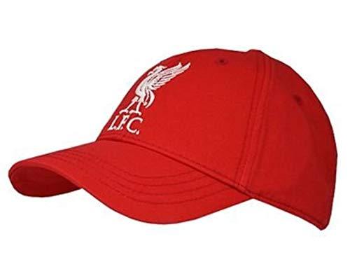 Liverpool FC - Casquette 100% Coton - Adulte Unisexe (Taille Unique) (Rouge)