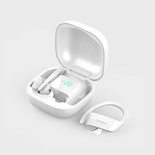 FSSQYLLX Bluetooth Earphone Wireless Headphones Headsets Earbuds with Microphone Sports Waterproof Charging Box Digital Display