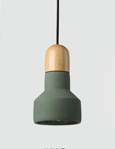 Toaueng kleine kandelaar cement Nordic creatieve kunst restaurant huisje slaapkamer met eenpersoonsbed bed persoonlijkheid hout cement verkoop