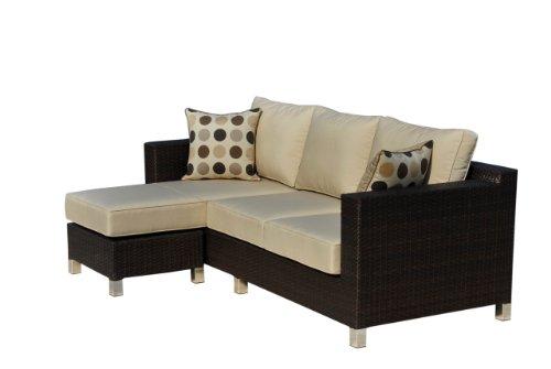 Hot Sale Sirio MS014 Deep Seating Set with Sunbrella Fabric, 2-Piece