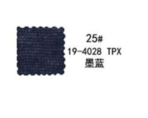 LLine Dunne jersey katoenen stof doorzichtig voor naai vest voor herfst, donkerblauw, 50x150cm