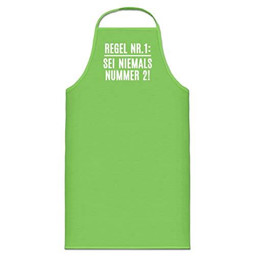Shirtcity Regel Nr. 1: Sei niemals Nummer 2! Kochschürze by