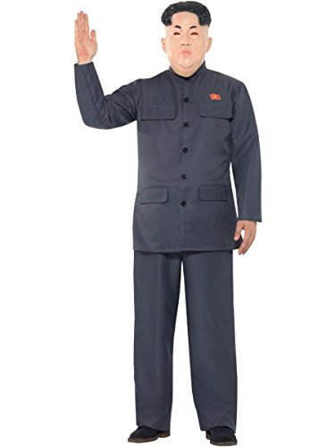 Smiffys Herren Kostüm Korea Diktator Anzug Karneval Fasching Halloween Gr.XL