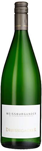 Dreissigacker Weißburgunder 1l Weißwein 2017 1 l