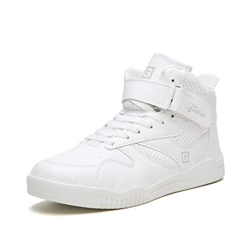 Zapatillas de Baloncesto de caña Alta para Hombre Ligeras y...