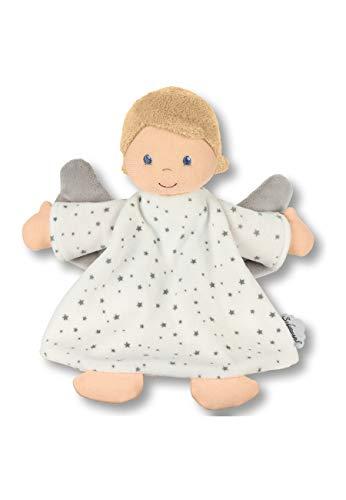 Sterntaler Schmusetuch Schutzengel, Für Babys ab dem 1. Monat, Größe M, 12 x 17 cm