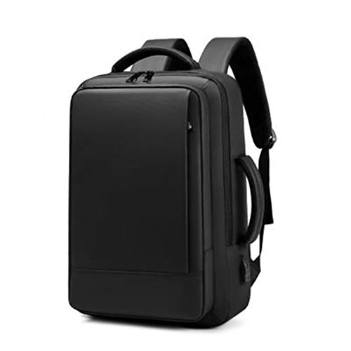 Laptop Backpack With USB Charging Port Durable and Comfortable Water Resistant Backpack Anti Theft Business Backpack (Color : B)