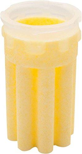Heizölfiltereinsatz Sinterkunststoffsiebeinsatz Sternform gelb 50 µm