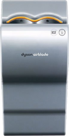 Dyson Airblade AB02 Silver Hand Topics on TV 110 Dryer - 120V Sale price