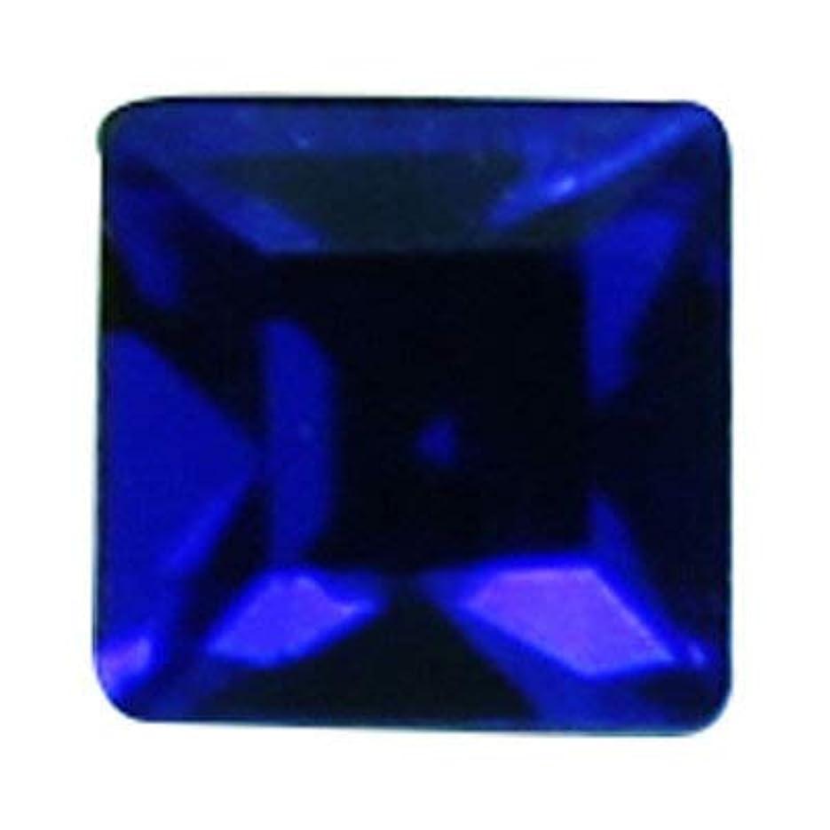 不安定なスキャンダラス光のSWAROVSKI マジェスティック?ブルー 3mm #4428 スクエア 24P