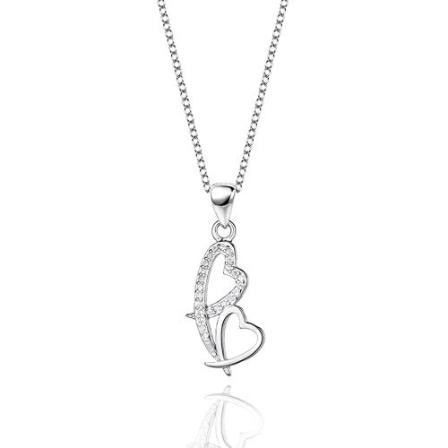 Bosi General Merchandise joyería en Forma de corazón, Collar de Amor, Colgante de Las señoras, Regalo Creativo, colección
