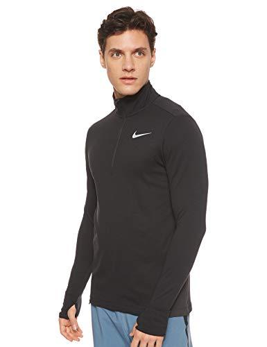 Nike Men s Sphere Element 1 2 Zip Running Top Black Size Medium