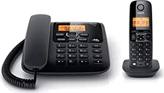 Gigaset A730 Corded-Cordless Phone Combo with 150 Hr Standby, Voicemail, Conference Call, Caller ID Function, 100 Contact ...