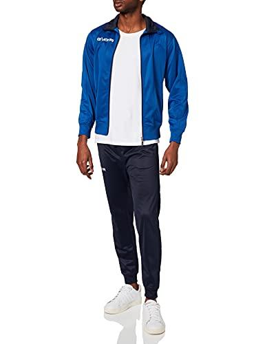 Givova TR031, Unisex Adulto, Azzurro/Blu, XS