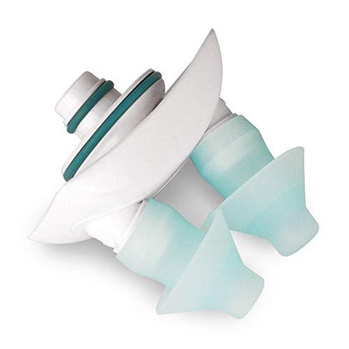Navage Nasal Dock-Nose Pillow Combo: White Nasal Dock and Standard Nose Pillows