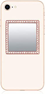 iDecoz Phone Mirror/Sticks on The Back of Your Phone or case. The Replacement for The Compact Mirror. It's The Best Way to Check Yourself Out On-The-Go! (Rose Gold)