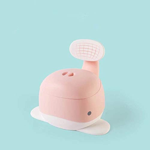 Bureze Baby Vasino di formazione sedile WC sedia da viaggio toilette bambino vasino trainer cartoon balena bambini sedia in plastica bambino orinatoio vasino