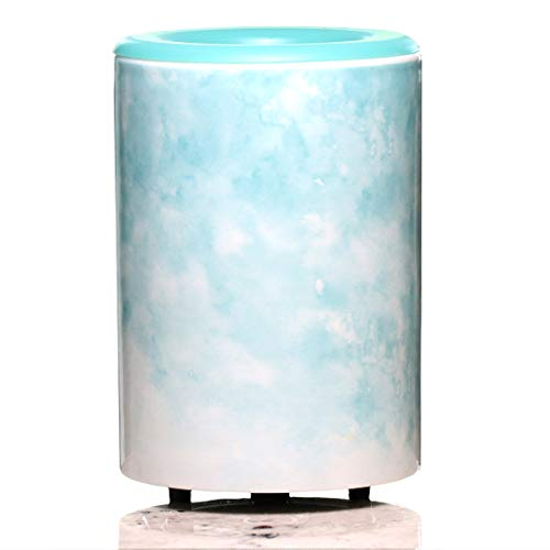Happy Wax - Mod Wax Melt Warmer in Watercolor - Perfect Electric and Decorative Ceramic Wax Melter or Warmer for Scented Wax Melts! (Melts not Included) (Watercolor)