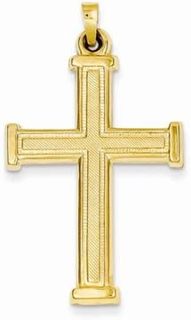 Latin Cross Pendant in 14K Yellow Gold