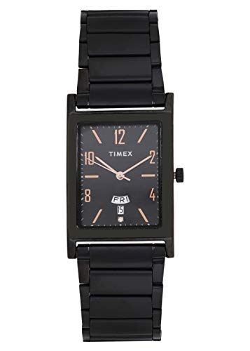 Timex Analog Black Dial Men's Watch-TW000L521