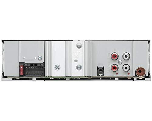 JVC KD-X362BT Receptor Multimedia para Coche Negro Bluetooth - Radio para Coche (Negro, 1 DIN, 50 W, Giratorio, MOSFET, LCD)