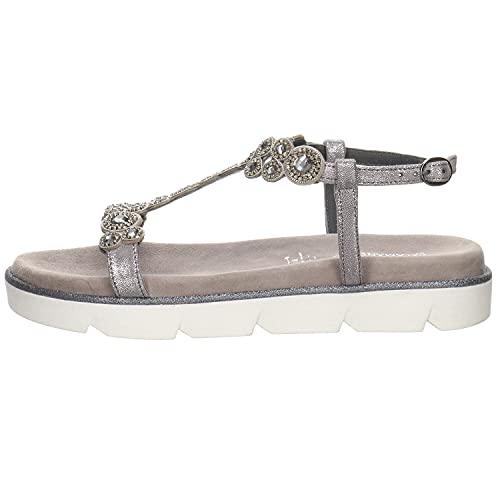 Salamander LIDWINA, Sandale cale Femme, Grey, Grey, 39 EU