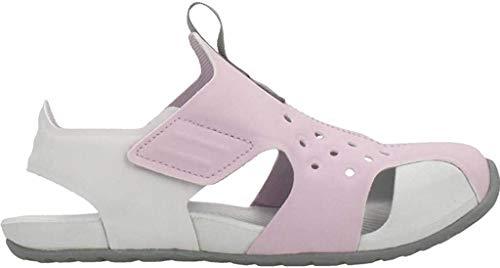 Nike Sunray Protect 2, Walking Shoe Boys, Lila Helado/Partícula Gris/Polvo Fotón