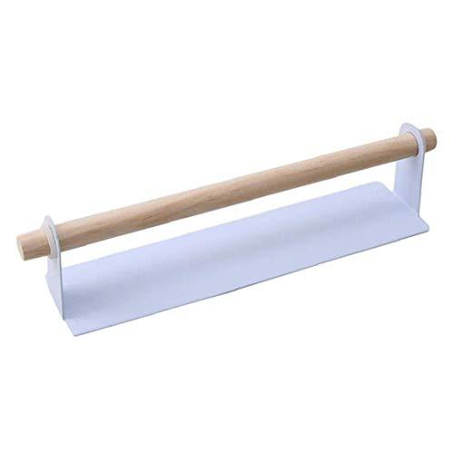 NaisiCore Blanco, Lnlyin Kitchen Roll Holder Dispensador de Toallas Auto Adhesivo tisular portarrollos de Cocina de Suministro