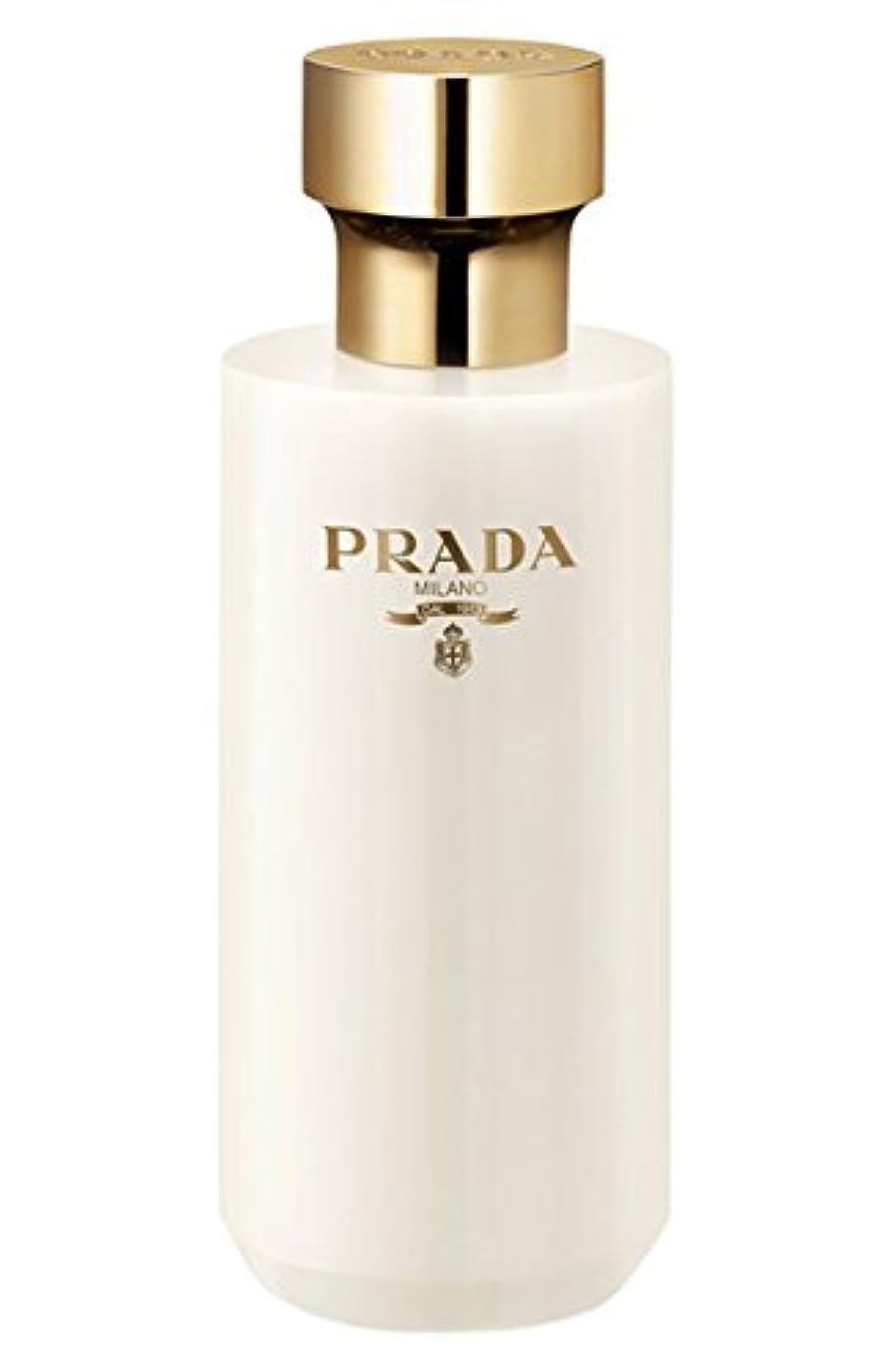 インタビューのりビールLa Femme Prada (ラ フェム プラダ) 6.7 oz (200ml) Shower Cream for Women