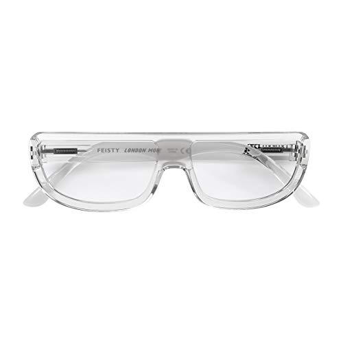 LONDON MOLE Damen Brillengestell transparent durchsichtig