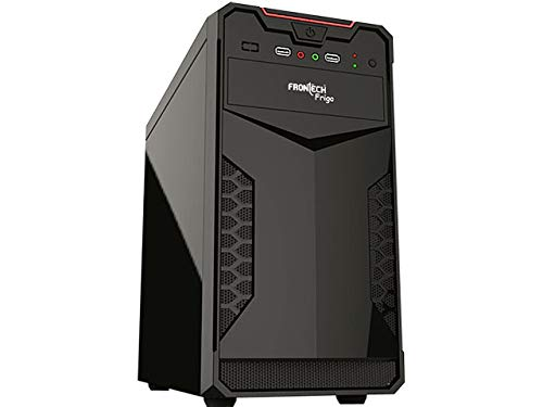 Frontech Computer Cabinet microATX.µATX, Supports only microATX Motherboard is 9.6 × 9.6 inches (244 × 244 mm)