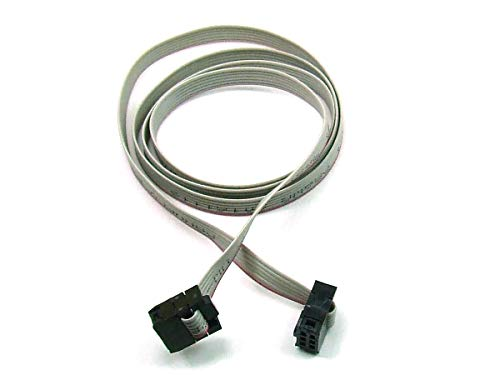 POPESQ - IDC Cable 6 pin (2x3) cca. 100 cm / 1 m long ISP Arduino compatible #A1305