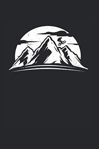 Bmx Berg: Bmx Notizbuch Mit 120 Linierten Seiten (Linien) Inkl. Seitenangabe. Als Geschenk Eine Tolle Idee Für Offroad Fans Und Biker