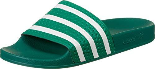 adidas Adilette, Chancletas Hombre, Verde (Glory Green/FTWR White/Glory Green), 44 1/2 EU