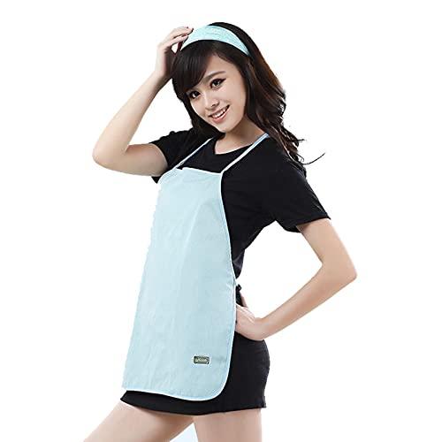 DUAN Ropa Anti-Radiación Maternidad, Camiseta sin Mangas premamá Cami Vestidos de Escudo de protección de Tanque para la protección del bebé y la Maternidad,Light Blue