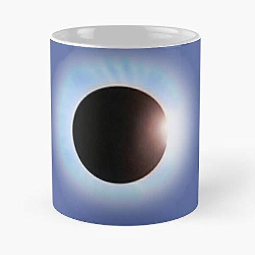 lridescent Battle Music Sun Placebo Eclipse Moon Album Best 11 oz Kaffeebecher - Nespresso Tassen Kaffee Motive