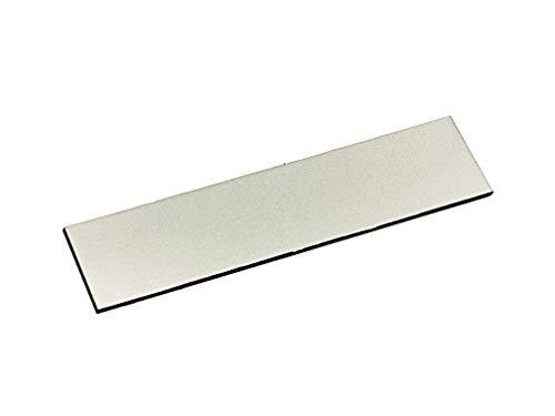 Acryl Türschilder mit Gravur - Türschild, Klingelschild, Namensschild, Briefkastenschild - mit Wunschgravur - in Edelstahl, Kupfer oder Gold Optik (edelstahl)