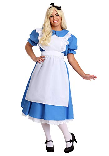 Fun Costumes Womens Adult Deluxe Plus Size Alice Costume 2X