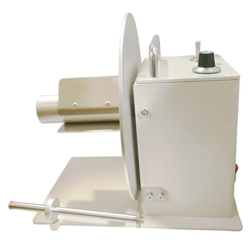 INTBUYING Automatic Label Rewinder Rewinding Machine w/Speed Adjustment Bidirectional 110V