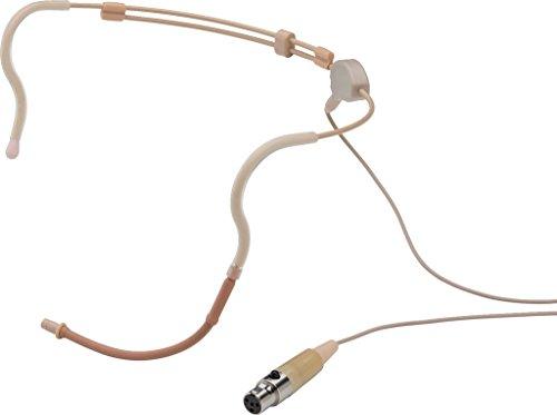 Jts cm de 235if Micrófono de diadema Electret, Bola omnidireccional Beige