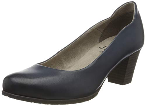 Jana 100% comfort Damen 8-8-22404-24 Pumps, Blau (Navy 805), 40 EU