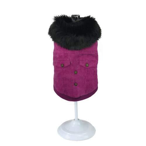 Croci C7374742 jas voor honden, roze velvet, 30 cm