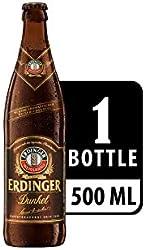 Erdinger Dunkel Dark Wheat Beer Bottle, 500ml