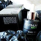 Platinum Men Beard Maniac Beard Oil/Hombres platino barba barba loco aceite 30ml